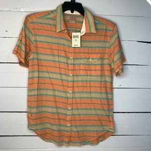 •NEW• Lucky Brand Pocketed Button Up Shirt